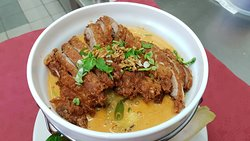 Yellow Curry with Crispy Duck