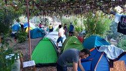 Otelimizde kamp olanakları