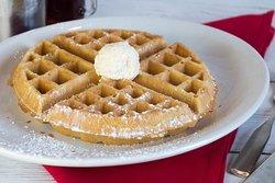 Giant Homemade Waffle