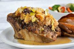 Roasted Stuffed Iowa Chop