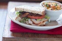 Soup and Half Sandwich
