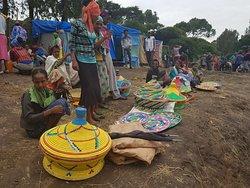 Around Adadi Mariam near Addis Ababa