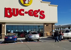 Entrance to the Terrell, TX Buc-ee's.