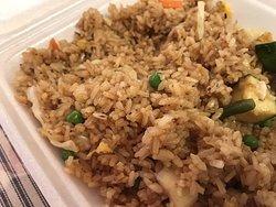 Best fried rice in Kona