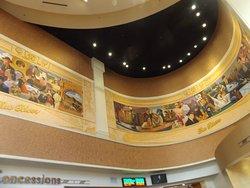 Beautiful ceiling murals