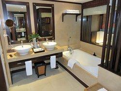 Bathroom in standard double room