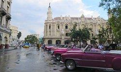 The Havana Big Theater. a Cuban architecture wonder