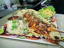 Diu sea food restaurant form hotel Maheshwari