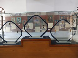 This photo shows portrait of all gallantry award winners, some of them were decorated posthumously. They inspire younger generations for patriotism. Governor Amolak Rattan Kohli