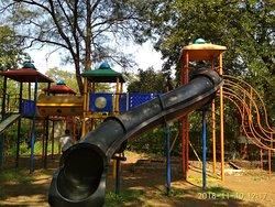 Play area near Indrayani restaurant