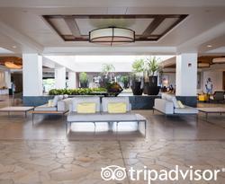 Lobby at the Waikoloa Beach Marriott Resort & Spa