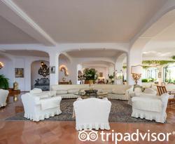 Lobby at the Il San Pietro di Positano