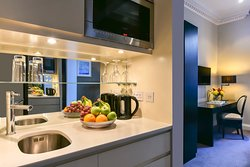 Kitchenette in all bedrooms and apartments