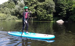 Stand-Up Paddle boarding from our location in Symonds Yat West.