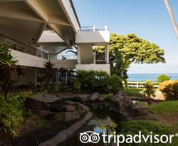 Grounds at the Outrigger Royal Sea Cliff
