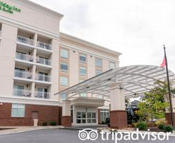 Entrance at the Holiday Inn Hotel & Suites - Asheville-Biltmore Vlg Area