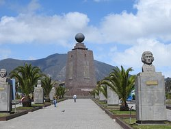 THE EQUATOR!!!!!! MORE OR LESS.