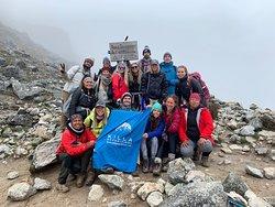 Summit of Salkantay pass