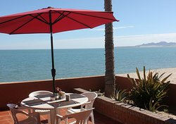 The only beachfront restaurant, offering the flavors of Baja with a view!