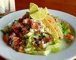 Blackened cod tacos