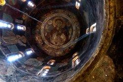 The copola inside the church
