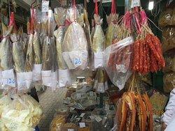 sausage and fish