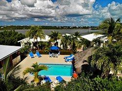 Poolside at Harbour Club Villas