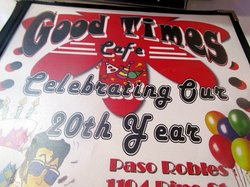20th Year, Good Times Cafe, Paso Robles, Ca