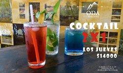 2x1 cocktail los jueves