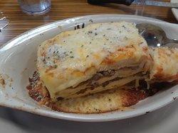 La lasagna muy bien