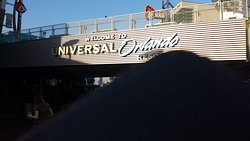 Universal Studios Resort sign