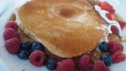 Wonderful Pancakes and Fruit, yummy
