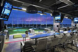 Topgolf Pharr climate-controlled hitting bays
