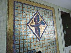 Mosaico in oro.