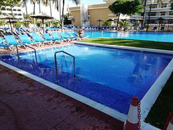 Excellent food with good variety. Choice of 3 hotels. big pools. value for money