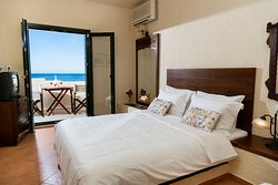 Duplex apartment with sea view.