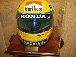 Casco de Ayrton Senna.