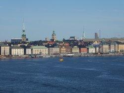 a view from Fjällgatan