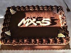 La torta dedicata
