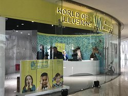 Entrance and reception of World of Illusions