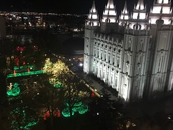 Magnificent Christmas Lights and Visitor Buildings