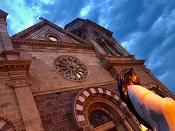 The Basilica is the landmark in Santa Fe. Start here on your walk to the Plaza and through the shops and restaurants. You can literally spend the whole day in the Plaza area.