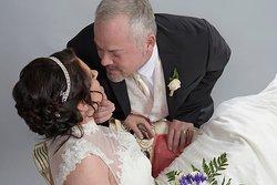 Professional Portrait studio on premises Niagara Falls Wedding Chapel on the Lane