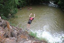 i challenged myself to land my first backflip