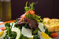 Wagyu Salad - Fresh ingredients with best wagyu!