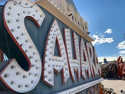The sign from the old Sahara Motel