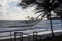 vista de una de las bajadas a la playa