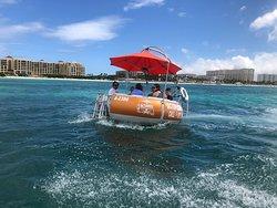 Octopus Aruba Rent a boat on Aruba