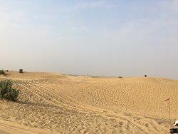 Jeep Safari and Camel Safari at Sam Dunes Jaisalmer