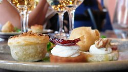 Gorgeous food matching in the new restaurant at the newly opened Cellar Door